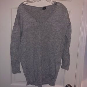 Gray sparkle and fade sweater by urban outfitters
